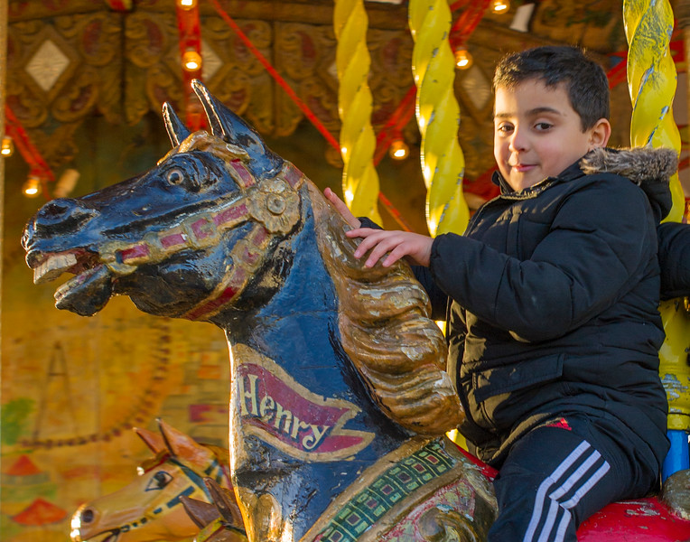Carefree days of the Christmas Holiday in Paris by the Place de la Concorde