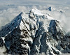 Mt McKinley, Denali, North America's highest mountain peak