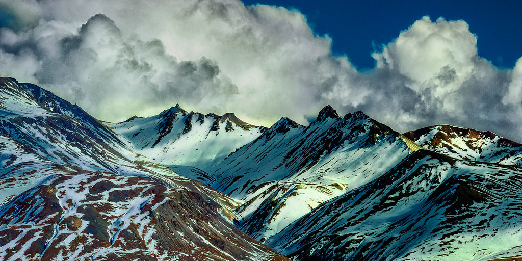 Lesser peaks of the Alaska Range